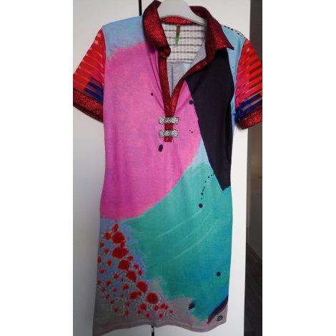 Robe tunique CULITO FROM SPAIN Multicouleur