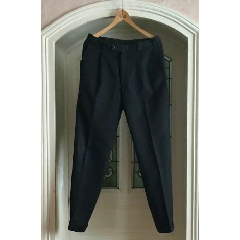 Pantalon droit OLD ENGLAND Noir
