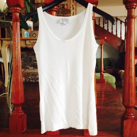 Top, tee-shirt KYUSO Blanc, blanc cassé, écru