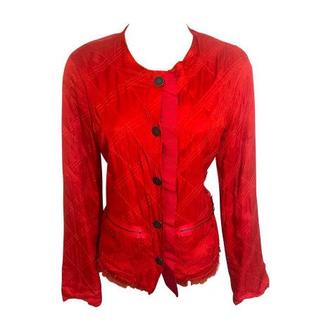 Blazer, veste tailleur LANVIN Rouge, bordeaux
