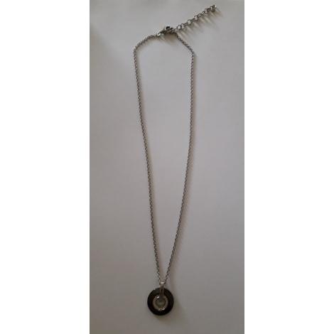 Pendentif, collier pendentif CERRUTI 1881 Argenté, acier