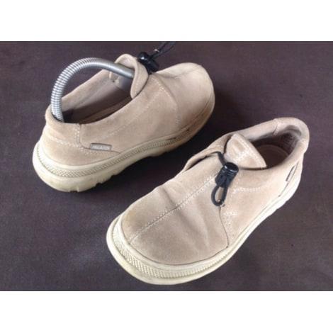 Bottines & low boots plates PALLADIUM Beige, camel
