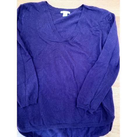 Pull H&M Violet, mauve, lavande
