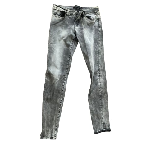 Jeans droit IKKS Gris, anthracite