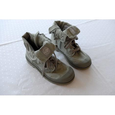 Chaussures à lacets PALLADIUM Kaki