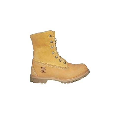 Santiags, bottines, low boots cowboy TIMBERLAND Beige, camel