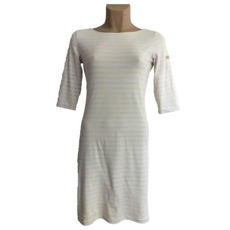 Robe mi-longue SAINT JAMES Blanc, blanc cassé, écru