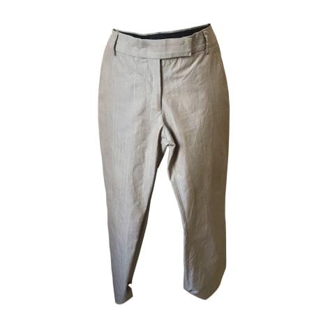 Pantalon droit PAUL SMITH Beige, camel