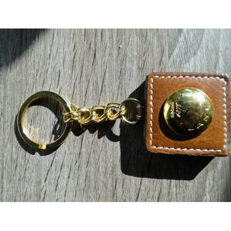 Porte-clés LANCEL Doré, bronze, cuivre