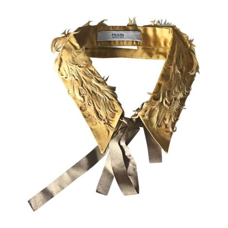 Bow Tie PRADA Ocre