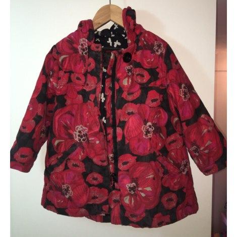 Manteau CATIMINI Rose, fuschia, vieux rose