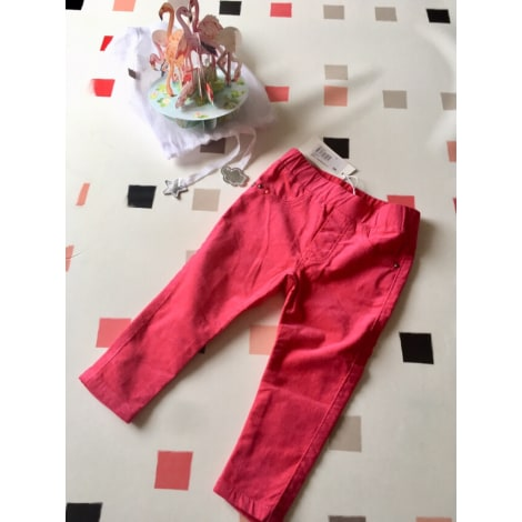 Pantalon CATIMINI Rose, fuschia, vieux rose