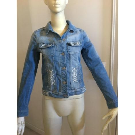 Veste en jean COMPTOIR DES COTONNIERS Bleu, bleu marine, bleu turquoise