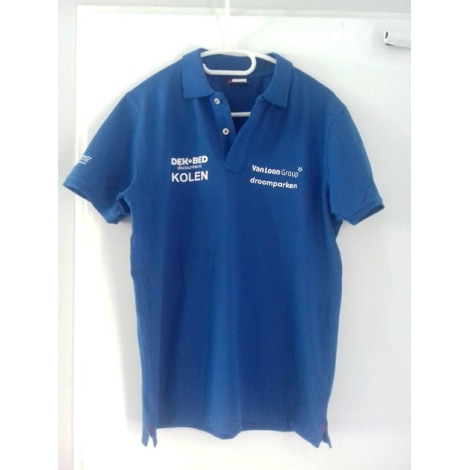 Polo VERSCHUUR MOTORSPORT Bleu, bleu marine, bleu turquoise