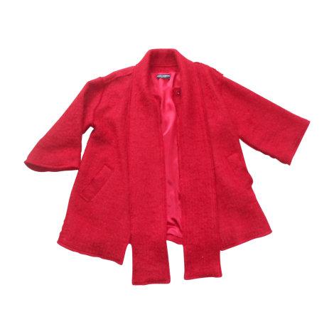 Manteau DOLCE & GABBANA Rouge, bordeaux