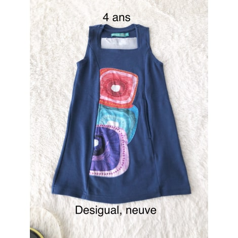Robe DESIGUAL Bleu, bleu marine, bleu turquoise