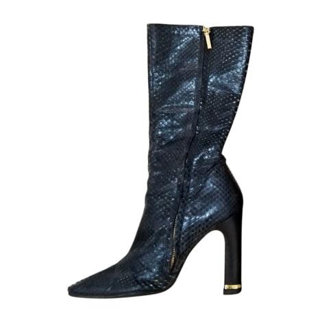 High Heel Boots DOLCE & GABBANA Blue, navy, turquoise