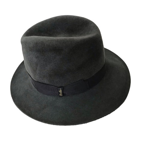 Chapeau BORSALINO Gris, anthracite