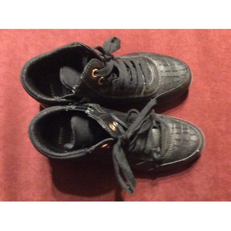 Chaussures à lacets GEOX Noir