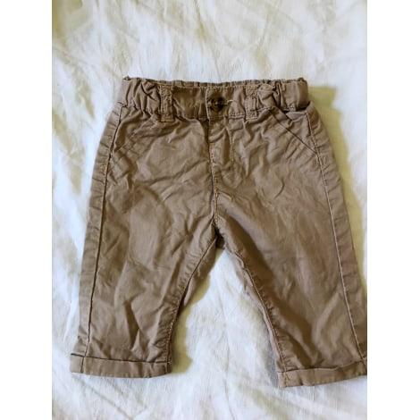 Pantalon KIABI Marron