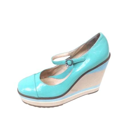 Escarpins compensés MELLOW YELLOW Bleu, bleu marine, bleu turquoise