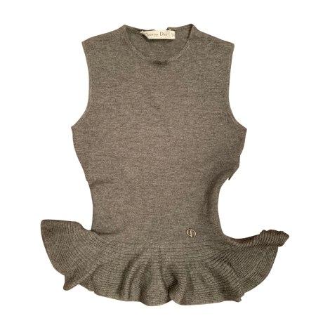 Top, tee-shirt DIOR Gris, anthracite