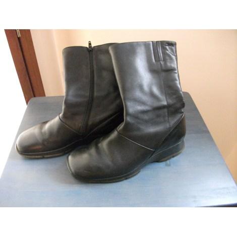 Bottines & low boots plates CLARKS Noir