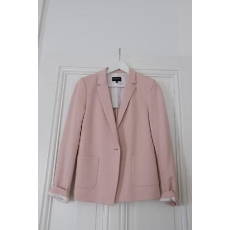 Blazer, veste tailleur CAROLL Rose, fuschia, vieux rose