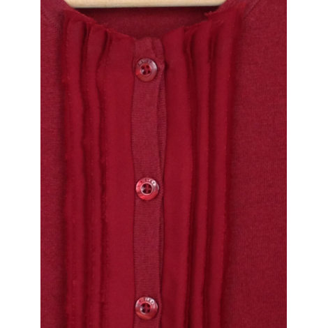 Gilet, cardigan SISLEY Rouge, bordeaux