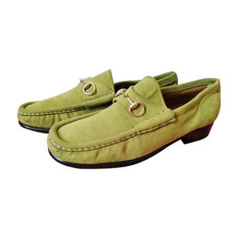 Loafers GUCCI Green