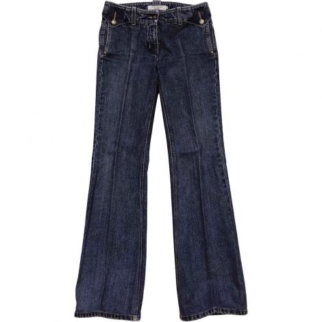 Jeans évasé, boot-cut YVES SAINT LAURENT Bleu, bleu marine, bleu turquoise