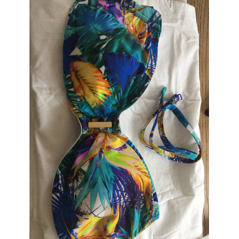 Maillot de bain une-pièce AUBADE Bleu, bleu marine, bleu turquoise