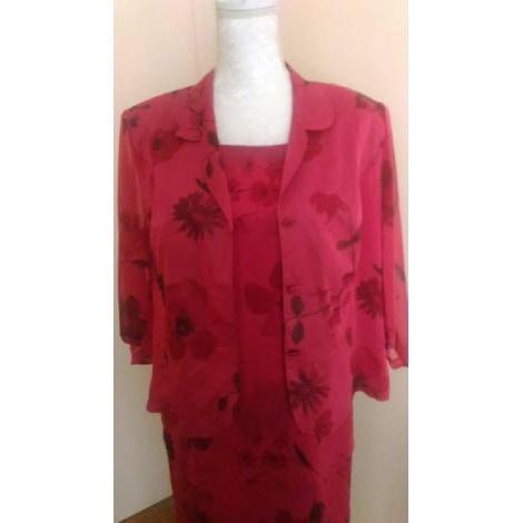 Tailleur robe UN JOUR AILLEURS Rose, fuschia, vieux rose