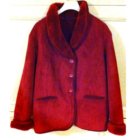 Blouson, veste en fourrure ROSAROSAM Rouge, bordeaux