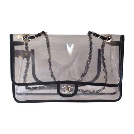 Non-Leather Shoulder Bag CHANEL Timeless - Classique Transparent