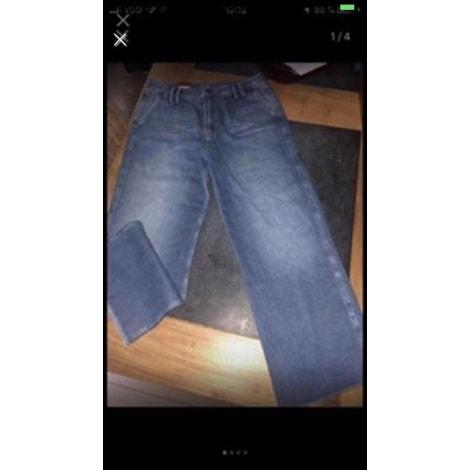 Jeans très evasé, patte d'éléphant PEPE JEANS Bleu, bleu marine, bleu turquoise