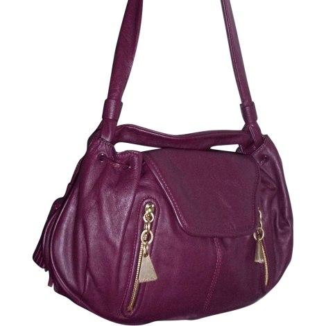 Lederhandtasche SEE BY CHLOE Violett, malvenfarben, lavendelfarben