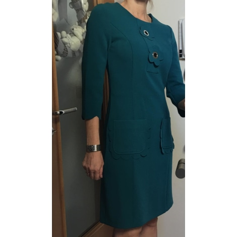 Robe mi-longue CAROLINE BISS Vert