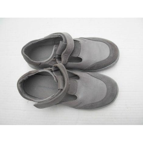 Chaussures à scratch VERTBAUDET Gris, anthracite