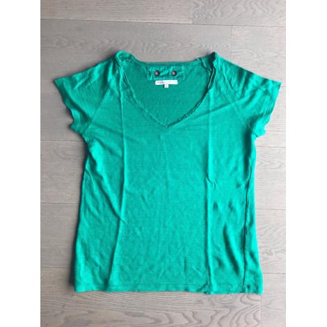 Top, tee-shirt MAJE Vert