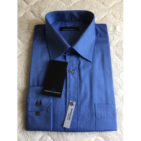 Chemise PIERRE CLARENCE Bleu, bleu marine, bleu turquoise