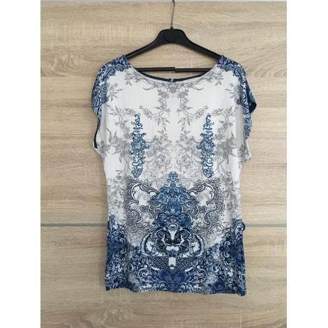 Top, tee-shirt CAMAIEU Bleu, bleu marine, bleu turquoise