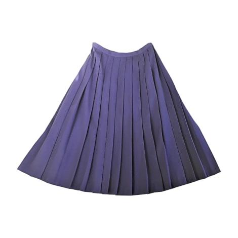 Jupe mi-longue VALENTINO Violet, mauve, lavande