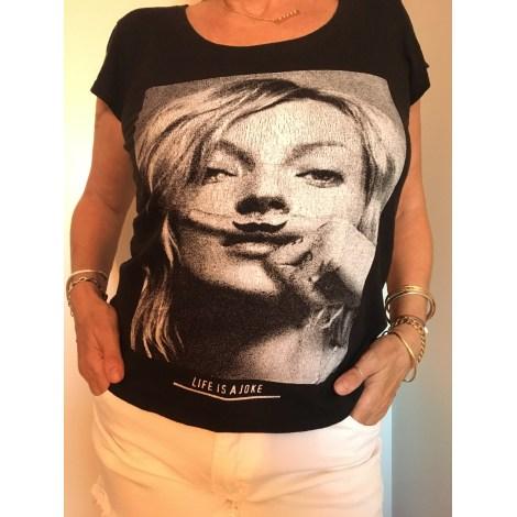 Top, tee-shirt ELEVEN PARIS Noir