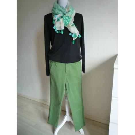 Pantalon slim, cigarette MKT STUDIO Vert