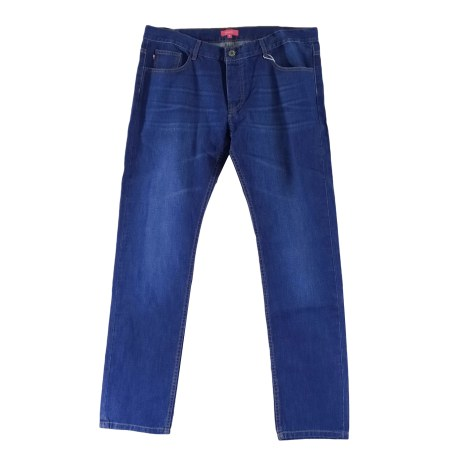 Jeans slim VICOMTE A. Bleu, bleu marine, bleu turquoise