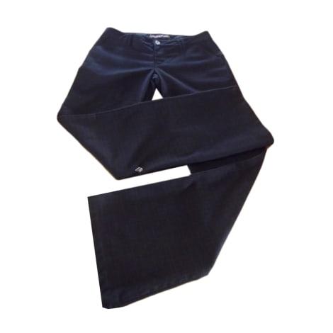 Pantalon droit VOLCOM Noir
