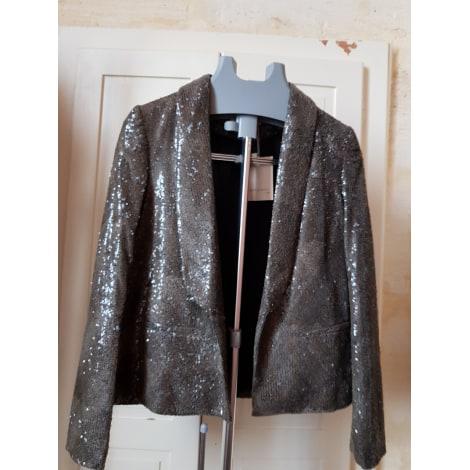 Blazer, veste tailleur SEE U SOON Doré, bronze, cuivre