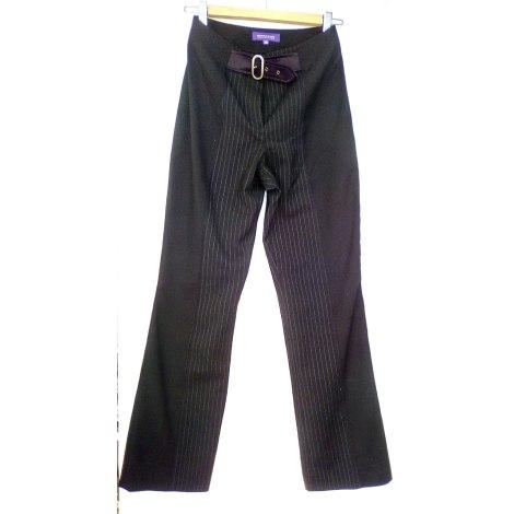 Tailleur pantalon ALAIN MANOUKIAN Noir
