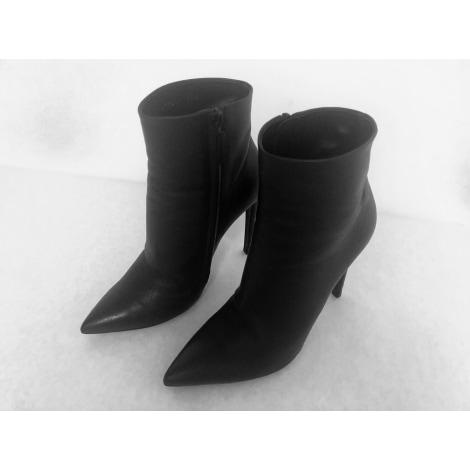 Bottines & low boots à talons BALENCIAGA Knife Noir